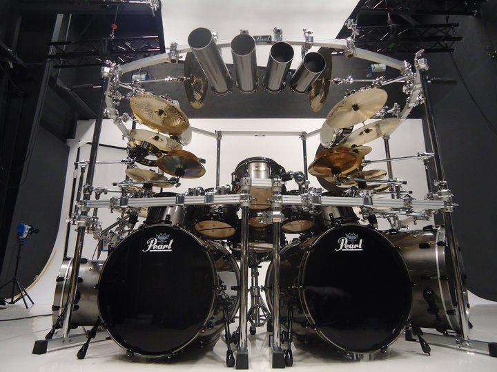 Drum Set Pearl Untuk Mike Mangini Galeri Misbach